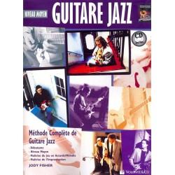 Niveau moyen Guitare jazz - Méthode avec CD