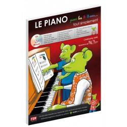 Astié - Le piano pour les 5/8 ans