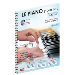 Astié - Le piano pour les 9/15 ans - Volume 1