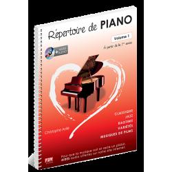Astié - Répertoire de piano - Volume 1