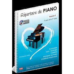 Astié - Répertoire de piano - Volume 2