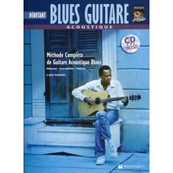 Débutant Blues Guitare acoustique - Méthode avec CD