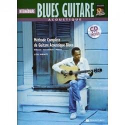 Intermédiaire Blues Guitare acoustique - Méthode avec CD