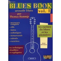 Blues Book - Acoustic Blues - Vol.1 - Méthode avec CD