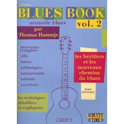 Hammje - Blues Book - Acoustic Blues - Vol.2 - Méthode avec CD