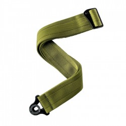 Sangle guitare d'Addario Auto Lock Verte