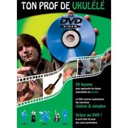 Ton prof de ukulélé - Méthode avec DVD