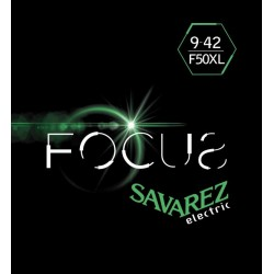 Cordes Savarez Focus guitare électrique 9-42