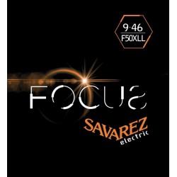 Cordes Savarez Focus guitare électrique 9-46