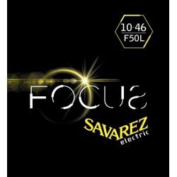Cordes Savarez Focus guitare électrique 10-46