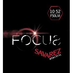 Cordes Savarez Focus guitare électrique 10-52