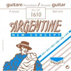 Cordes Jazz Manouche Savarez Argentine à boule 10-45Forte