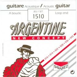 Cordes Jazz Manouche Savarez Argentine à boucle 10-45