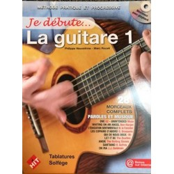 Je débute... la guitare - Volume 1 +CD