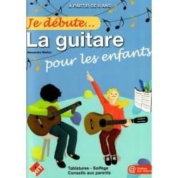 Je débute... la guitare pour les enfants
