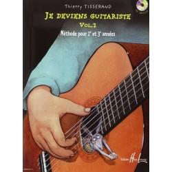Tisserand - Je deviens guitariste - Vol.2