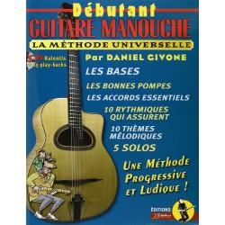 Débutant guitare Manouche - Daniel Givone