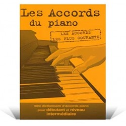 Mini dictionnaire d'accords de piano