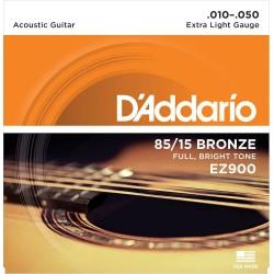 Cordes folk d'Addario Extra Light 10-50
