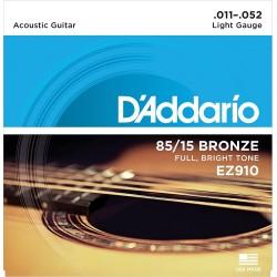 Cordes folk d'Addario Light 11-52