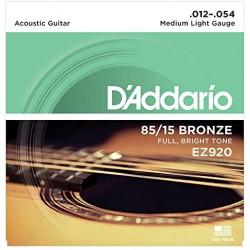Cordes folk d'Addario Light 12-54