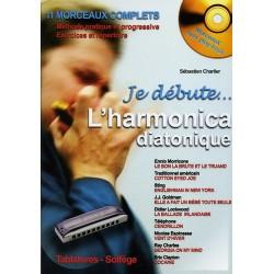 Charlier - Je débute...l'harmonica diatonique - Avec CD