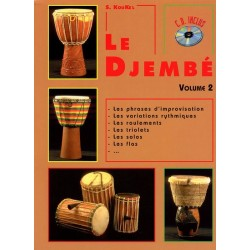 Koukel - Le Djembe - Vol.2 - Méthode avec CD