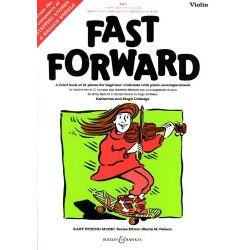 Colledge - Fast Forward - Méthode de violon débutant - Third book