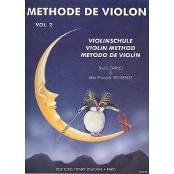 Garlej - Méthode de violon - Vol.2