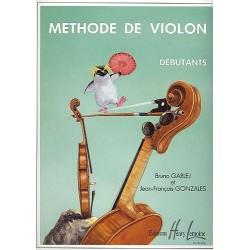 Garlej - Méthode de violon - Vol.1