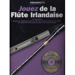 Jouez de la flûte Irlandaise - Méthode avec CD