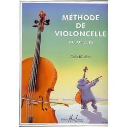 Bourin - Méthode de violoncelle débutant