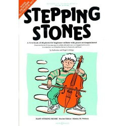 Colledge - Stepping Stones - Méthode de violoncelle débutant - First book