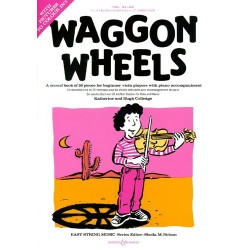 Colledge - Waggon Wheels - Méthode d'alto débutant - Second book