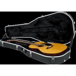 Etui guitare folk Dreadnought ABS Deluxe