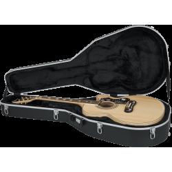 Etui guitare folk format Jumbo ABS Deluxe
