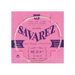 Corde Ré tension forte guitare classique Savarez 524R