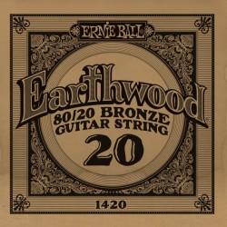 Ernie Ball 020 Earthwood 80/20 Bronze