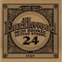 Ernie Ball 024 Earthwood 80/20 Bronze