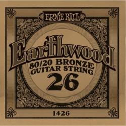 Ernie Ball 026 Earthwood 80/20 Bronze