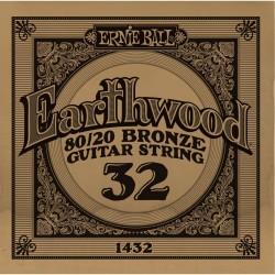 Ernie Ball 032 Earthwood 80/20 Bronze