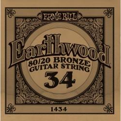 Ernie Ball 034 Earthwood 80/20 Bronze