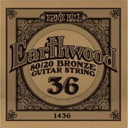 Ernie Ball 036 Earthwood 80/20 Bronze