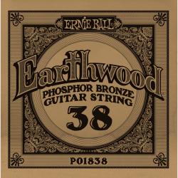 Ernie Ball 038 Earthwood 80/20 Bronze