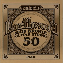 Ernie Ball 050 Earthwood 80/20 Bronze