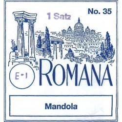 Cordes pour mandole Romana