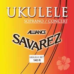 Cordes pour ukulélé soprano ou concert Savarez