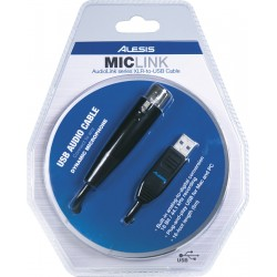 Interface Alesis MICLINK XLR - USB