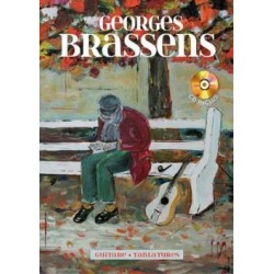 Georges Brassens Guitare tablature + CD